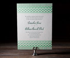 Ruffled® | Bella Figura Wedding Invitations #cards #wedding