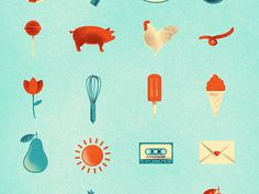 Some Icons #icons #texture