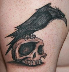 Bird Tattoo Designs: As Free As You Can Be Tattoo Meanings #tattoo #skull #bird