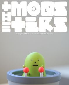Sticky Monster Lab #poster