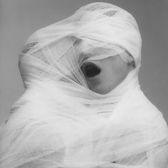 Robert Mapplethorpe. White Gauze, 1984 #art #people