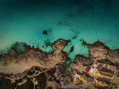 Formentera drone footage from above beautiful landscape nature air spain inspire photography designblog www.mindsparklemag.com sea mountain