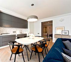 Elegant Apartment in Vilnius by Indre Sunklodiene - #decor, #interior, #homedecor,