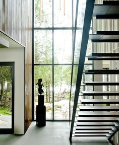 Forest Shelter with Romantic Name CEDRUS Residents -  #stairs,   #staircase,   #stairway, architecture, stairs
