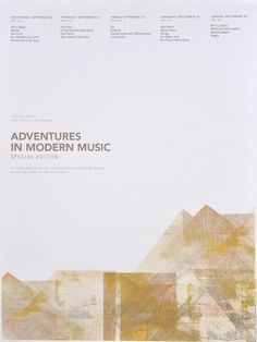Adventures in Modern Music | Sonnenzimmer - Sonnenzimmer #poster