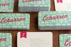 Echarren Real Estate #business #branding #card #tarjetas #brand #identity #bussines #logo