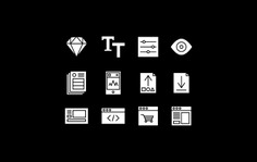 User Interface Icons for MakeUI - Styled Sketch UI Kits for quick prototyping