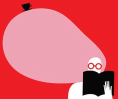 Pictoplasma Berlin 2013 artists revealed News Digital Arts #illustration #book #minimalism #cup #red #glasses #pink #simplicity #hear