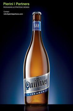 Quilmes 120 Años #quilmes #script #typography