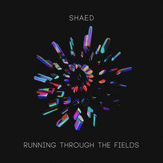 SHAED - Running Through The Fields Artwork by Quentin Deronzier