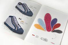 22DG Portfolio Catalogo Flecha #catalog #book #shoe #flecha #22dg #typography