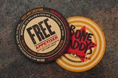 design work life » Matchbox: Bone Daddy's Restaurant Design #illustration #identity