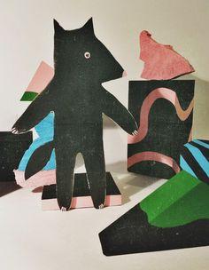 IMG_2070.JPG #squirrel #s #wood #illustration #art #painting #toy