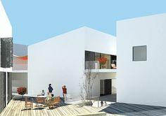 architecture / Edifício ZEN Viseu | 2008 www.artspazios.pt #architecture #artspazios #rendering