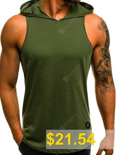 Men's #Vest #Casual #Slim #Breathable #Sleeveless #- #ARMY #GREEN