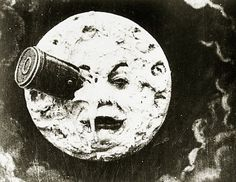 MoMA | The Collection | Georges Méliès. A Trip to the Moon (Le Voyage dans la lune). 1902 #vintage #texture #film