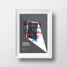 FuoriFuoco06 – Through the looking-glass by Canefantasma.com #canefantasma #poster #typography