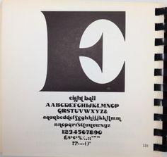Daily Type Specimen | Eight Ball #font #specimen #type #typography