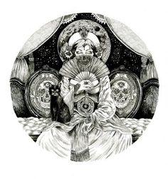 Dilek Baykara Illustration: Midnight Queen #illustration