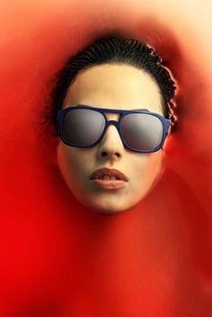 Fredrik Ödman Photography's Photos - TRIWA #red #water #woman #girl #fredrik #sunglasses #odman #photography