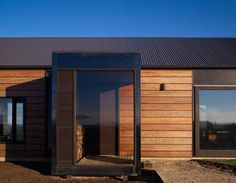 Architecture Photography: The Hill Plain House / Wolveridge Architects - The Hill Plain House / Wolveridge Architects (152186) – ArchDaily #timber #residential #house #corrugated #iron #to #roof #architecture #entrance