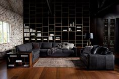 CJWHO ™ #design #interiors #black #photography #livingroom