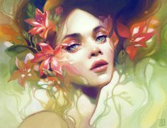 Digital Painting by Anna Dittmann #digital #anna #dittmann #painting
