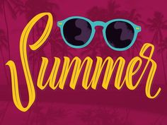 Happy Summer to all!! New lettering Testing a Tombow brush! More letterings: www.instagram.com/medinaoscar www.Medinaoscar.tumblr.com #glasses #calligraphy #lettering #script #palm #vector #type #sunglasses #colors #typeface #brush #summer #tombow #typography