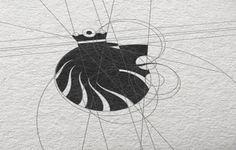 Korol on the Behance Network #logo #grid