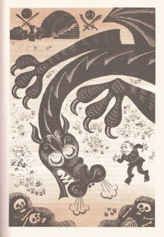7.gif (599×866) #vintage #soviet #hobbit #illustration russian