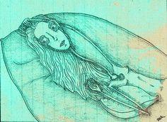 """Titanic"" by Molly Yllom #illustration #character #design"
