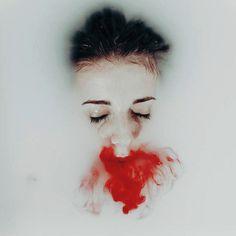 #blood#milk#photography