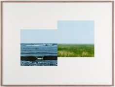 Gladstone Gallery #frame #photo #sea #nature #art #jan #dibbets