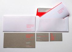 lovely stationery paul archer design4 #letterhead #identity #branding #stationery