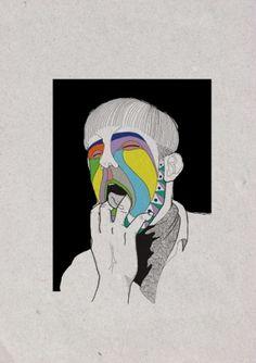 #portrait #psychedelic #minimal