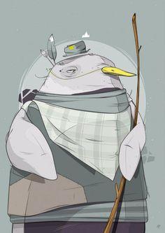 Pingu #vector #print #design #illustration #aroone #penguinaro #penguin #character