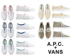 APC x Vans - COLT + RANE #colt #vans #+ #apc #rane
