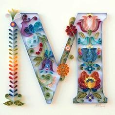 Lettering creativo con papel: Anna Chiara