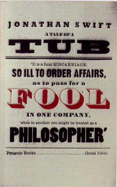 Penguin Books - A Tale of a Tub #covers