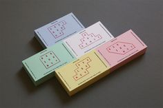 sketches & things / julestardy.com #stationary #stamps #buisness #letterpress #cards #pastel