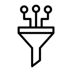 See more icon inspiration related to funnel, filter, chip, ui, seo and web, seo, filtering, electronics and tool on Flaticon.