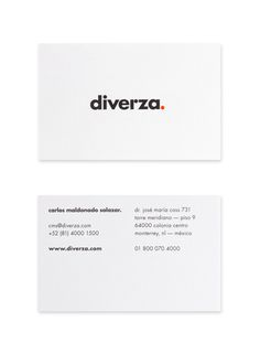 Diverza. by Face.