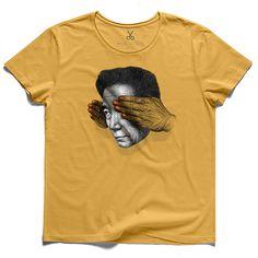 #blınd spot#yellow#tee#tshirt#blind#see#bernardshaw#spunkyzoe#hand