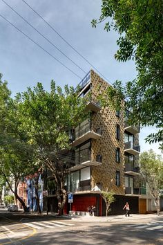 Just BE Apartments Designed with Two Very Different Façades