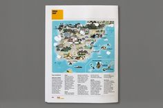 Monocle Spain #illustration #design #magazine