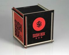 Lovely Package | Curating the very best packaging design | Page 4 #sushi #black #red #cardboard