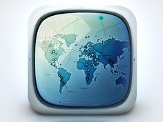 Space monitor #icon #iphone #application #ipad