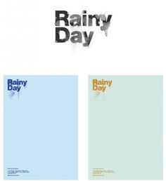 Tumblr #logo #letterhead #rainy #day