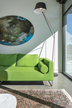 Modern Single Story House on a Sloped Site, Folsom, California
