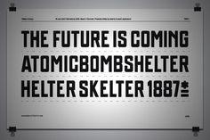 FFFFOUND! | PATEN.OTF on the Behance Network #futurism #type